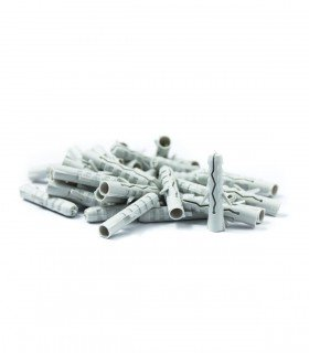 Pack de 50 goujons en nylon de 6 mm