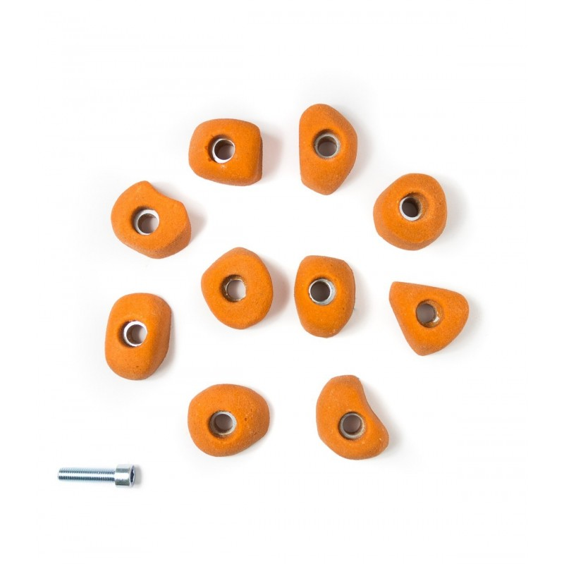 Pack de 10 de Prises taille XS arrondies