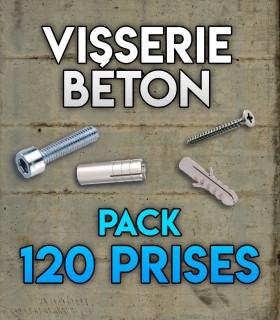 Visserie 120 initiation Béton