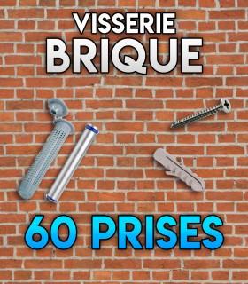 Visserie brique 60 Initiation - brique creuse