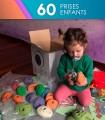 60 prises d'escalade initiation et enfants